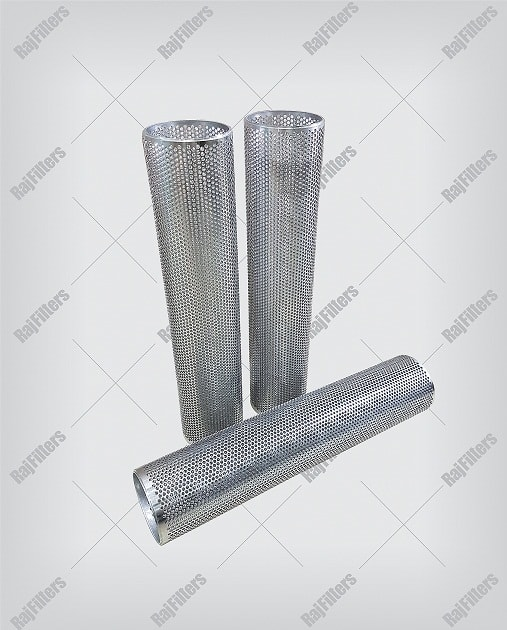 drilled perforated pipes