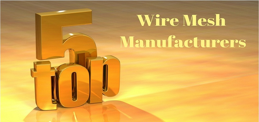 Top 5 Wire Mesh Manufacturers in India